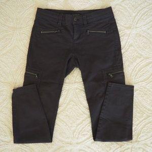 Ann Taylor utility skinny jeans